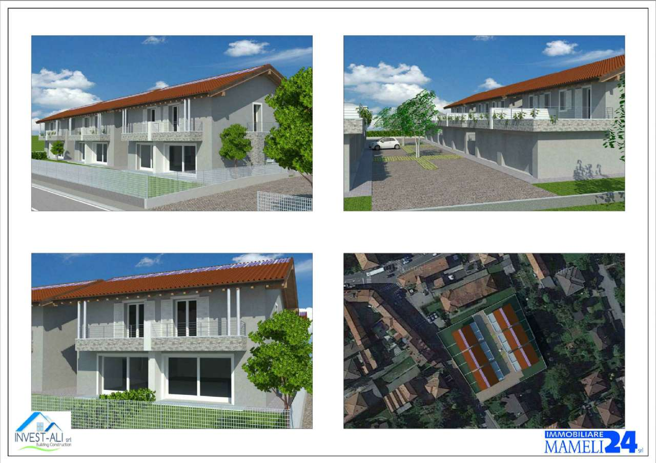 Porzione di villa bifamiliare di nuova costruzione Gallarate
