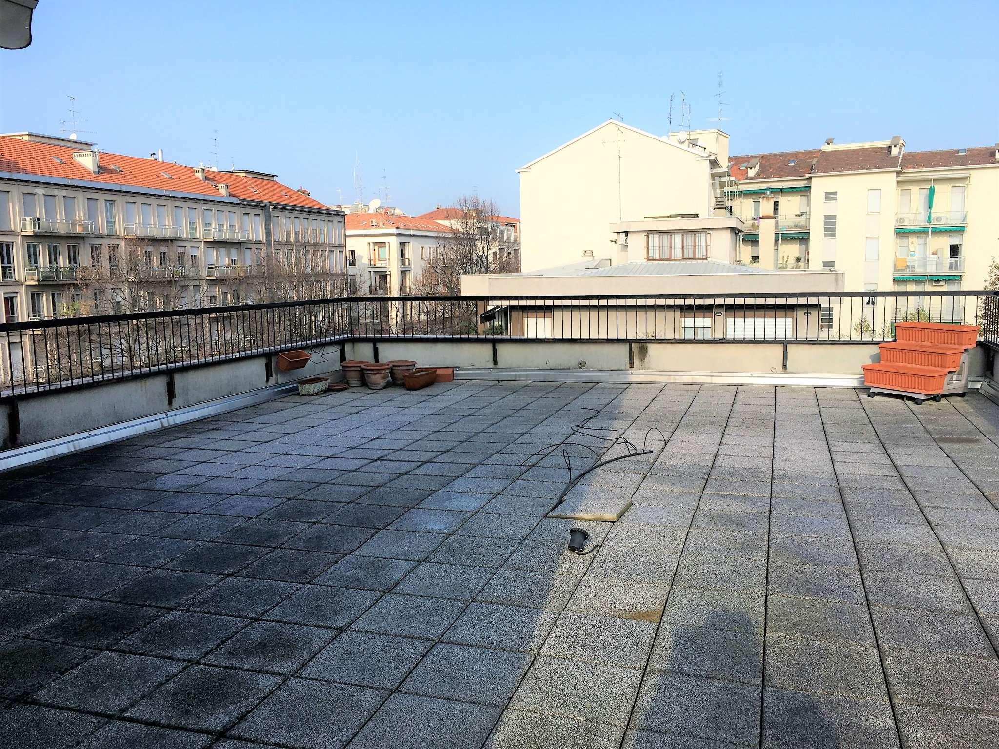 Attico su due livelli con terrazzi