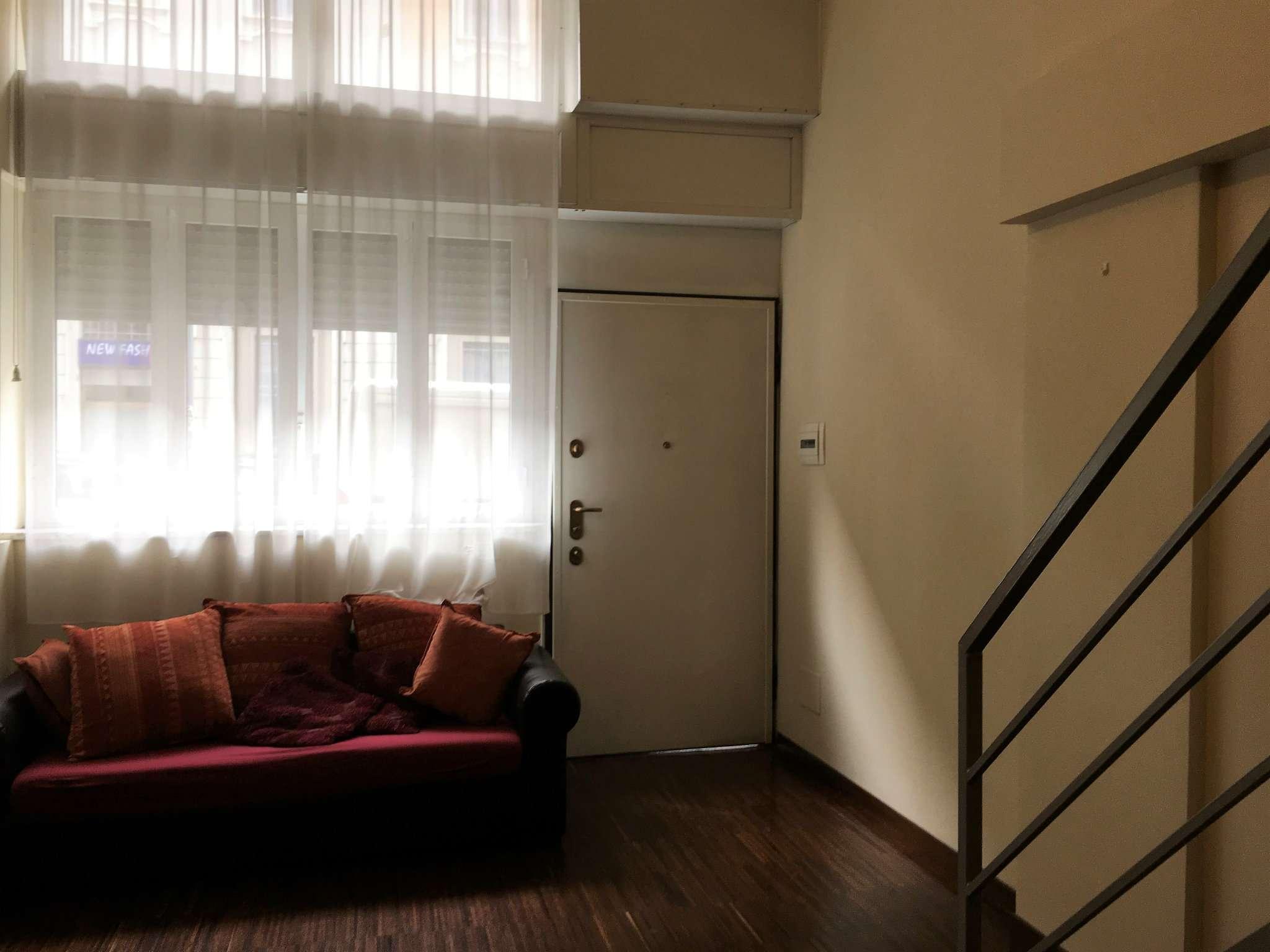Milano Via F. De Sanctis - Loft con soppalco