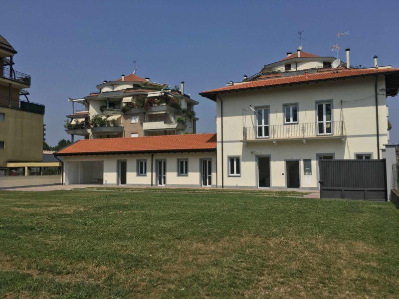 Villa singola con ampio giardino privato