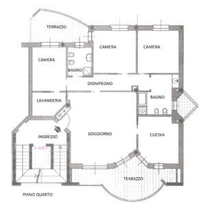 Appartamento di Pregio Zona Frati