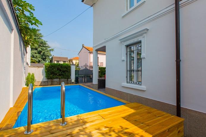 Castellanza Villa Singola con piscina